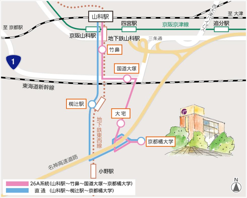 近江 八幡 駅 から 京都 駅